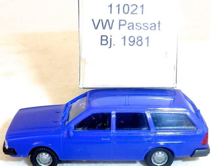 Taubenblau VW Passat Bj 1981 IMU//EUROMODELL 11021 H0 1//87 OVP # HO 1   å