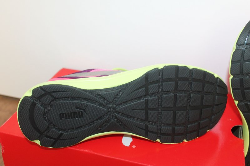 Details zu Puma Damen Sport Lifestyle Schuh Expedite Pink gelb alle Größen Neu mit Karton