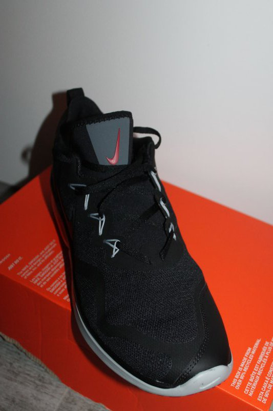 Nike Air Max Fury Herren Sport Schuh Schwarz Grau Rot Größe