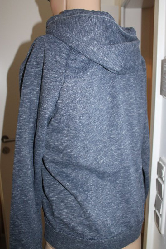 Details about Hollister Mens Hoodie Hooded Jacket Blue Grey Size M or XL NEW show original title