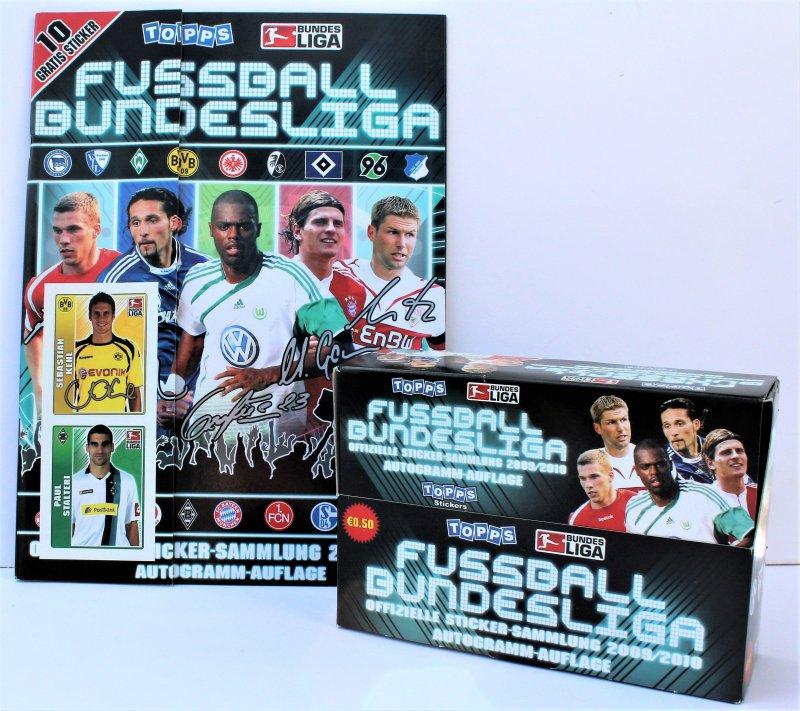 TOPPS Bundesliga 2011/12 Album 1 OVP Display 50 Tüten Verzamelingen