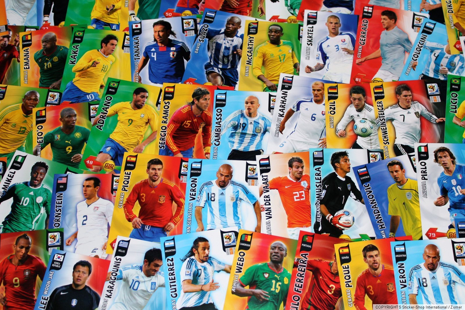 Adrenalyn Coupe du monde World cup 2010-228-Eiji KAWASHIMA-Japon-Goal Stopper