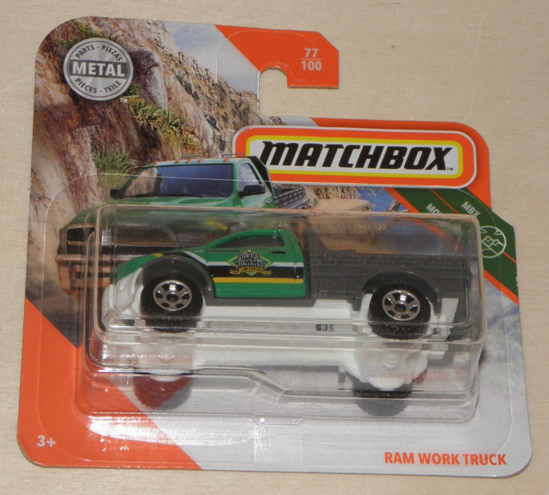 Matchbox 2020 RAM Work Truck 77//100 neu/&ovp