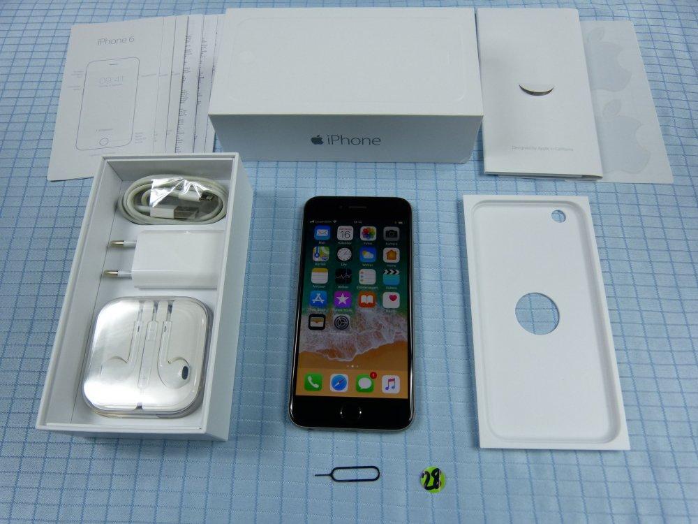 apple iphone 6 16gb spacegrau gebraucht ohne simlock. Black Bedroom Furniture Sets. Home Design Ideas