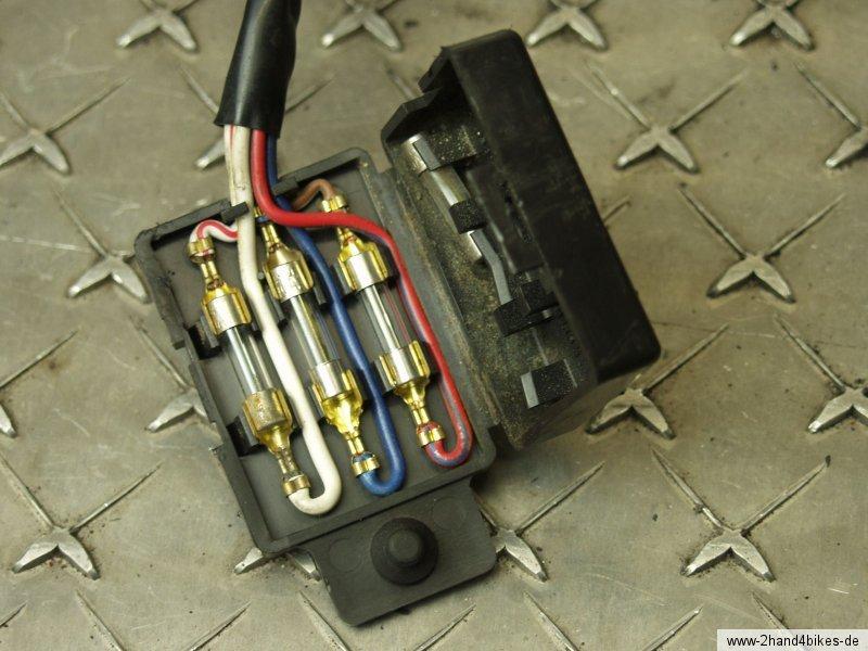 kz750e z750 sicherungskasten sicherung fuse junction box 81 ebay