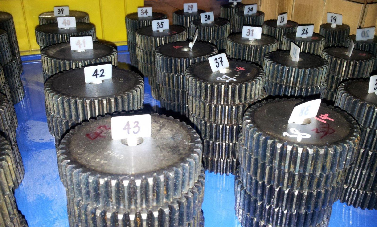 Zähnezahl 48 Material C45 ETZR-M3-48 Modul3 Mold3 Zahnrad