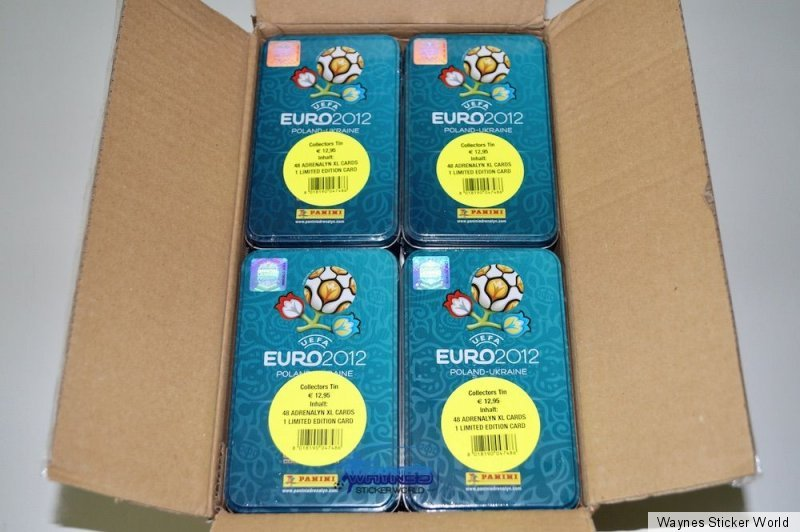 Panini em Adrenalyn XL euro 2012-Tin sammeldose nuevo//en el embalaje original