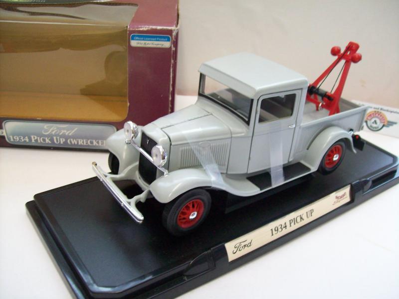 Ford T-Modell Pickup Wrecker, grey,1934, Yat Ming 1:18, OVP | eBay