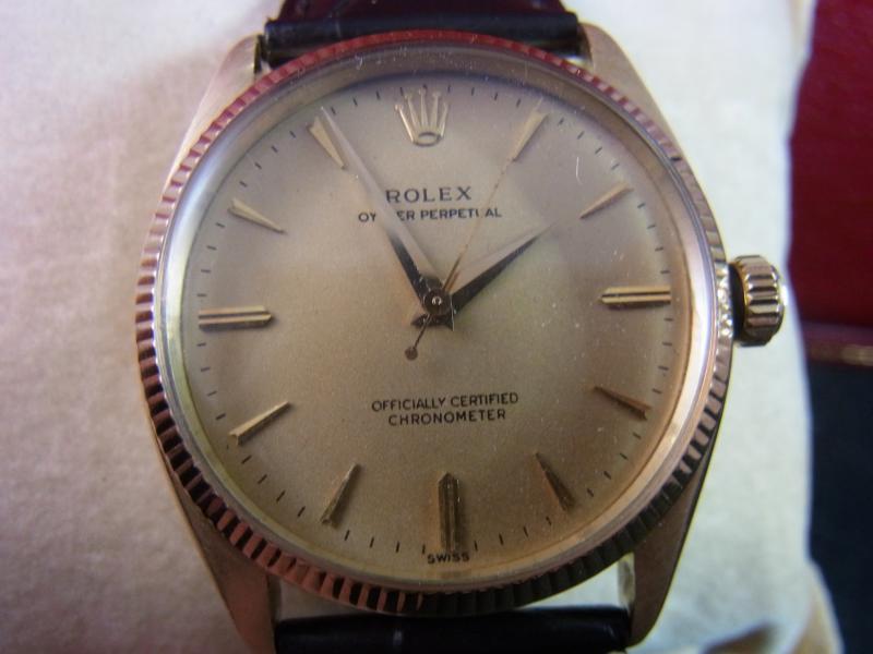 rolex 6567 chronometer vintage gold rechnung box ebay. Black Bedroom Furniture Sets. Home Design Ideas