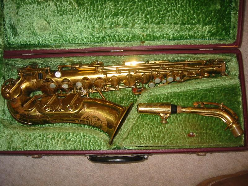 Details about Used Alto saxophone