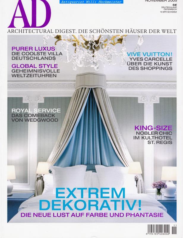 Ad Architectural Digest 112005 Die Schönsten Häuser Der Welt Ebay