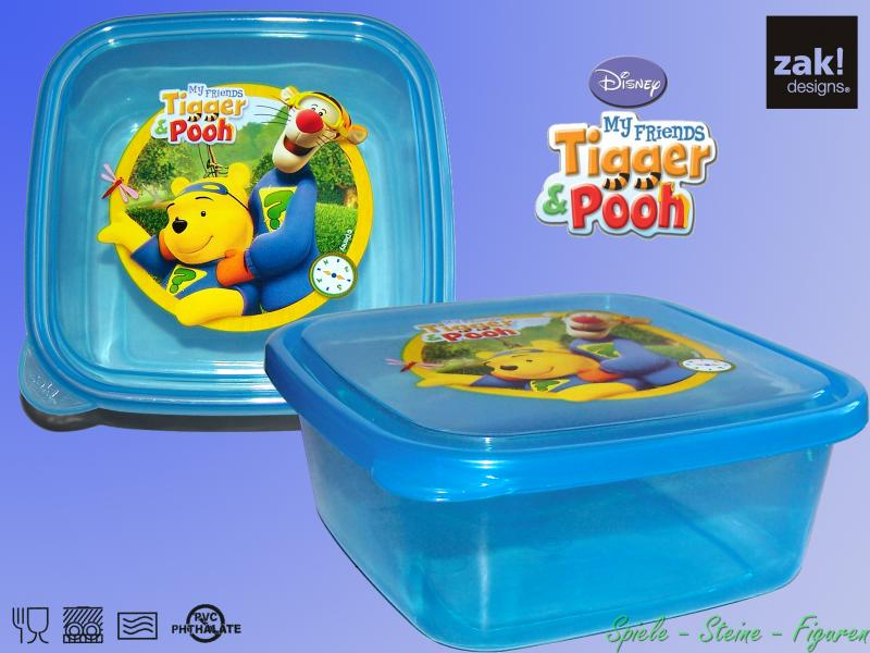 zak design tigger winnie pooh puuh lunchbox trink becher brotdose sport flasche ebay. Black Bedroom Furniture Sets. Home Design Ideas