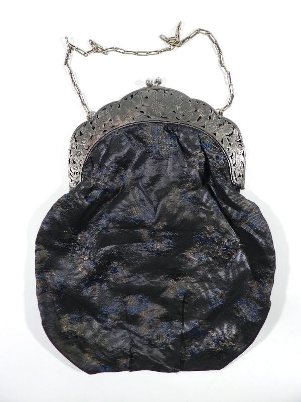 Details zu Gideon BEK Pforzheim Jugendstil Tasche ° xxl Abendtasche ° art nouveau bag