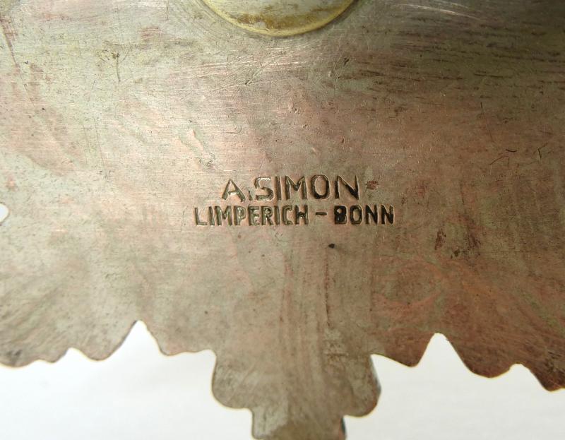 Orden Emaille 1936 M.g.v Vitrinenobjekte / Objets D'art Siegburg-ost Köln Karneval Fasching B-16