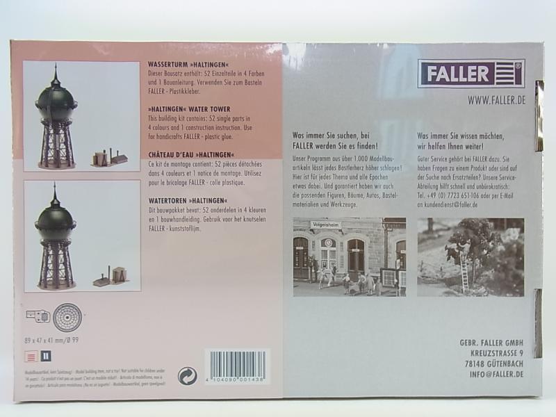 lot 11091 faller ho 120143 wasserturm haltingen water tower bausatz neu ovp ebay. Black Bedroom Furniture Sets. Home Design Ideas